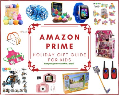 Amazon Prime Holiday Gift Guide for Kids