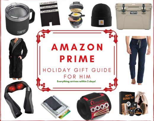Amazon Prime Holiday Gift Guide for Men