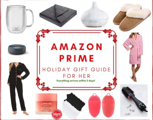 Amazon Prime Holiday Gift Guide for Women