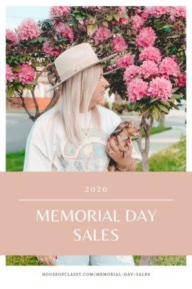 Memorial Day Sales 2020