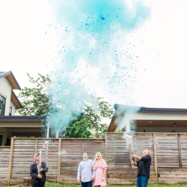 It's a BOY! Our Gender Reveal Party