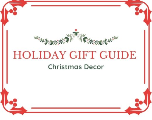 2020 Christmas Decor Holiday Gift Guide