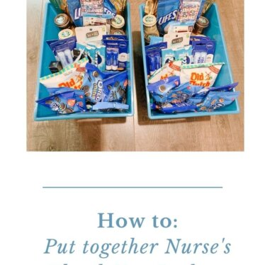 Nurse's Thank You Baskets